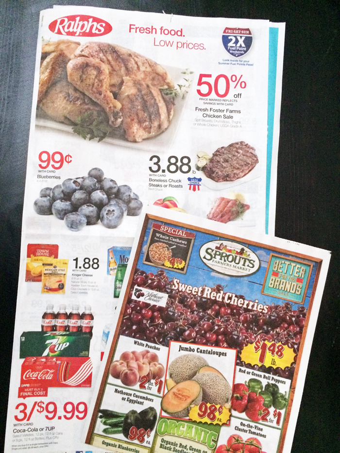 grocery sale ads