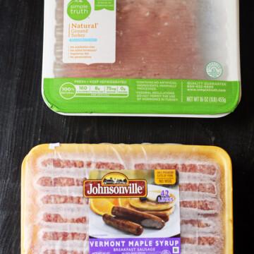 frozen turkey and sausage