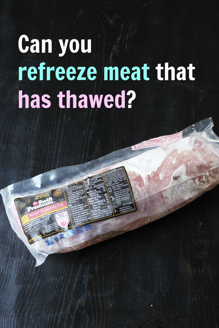 Can You Refreeze Meat that Has Thawed? Good Cheap Eats