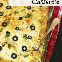 Chicken Enchilada Casserole Recipe Good Cheap Eats PIN