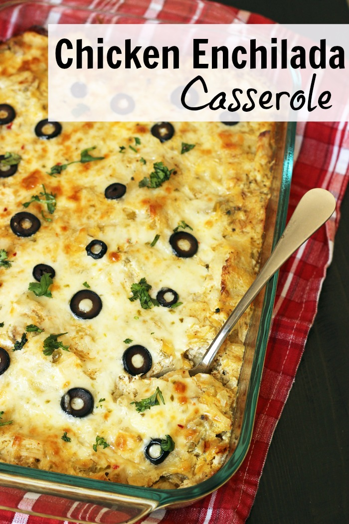 Chicken Enchilada Casserole Recipe | Good Cheap Eats