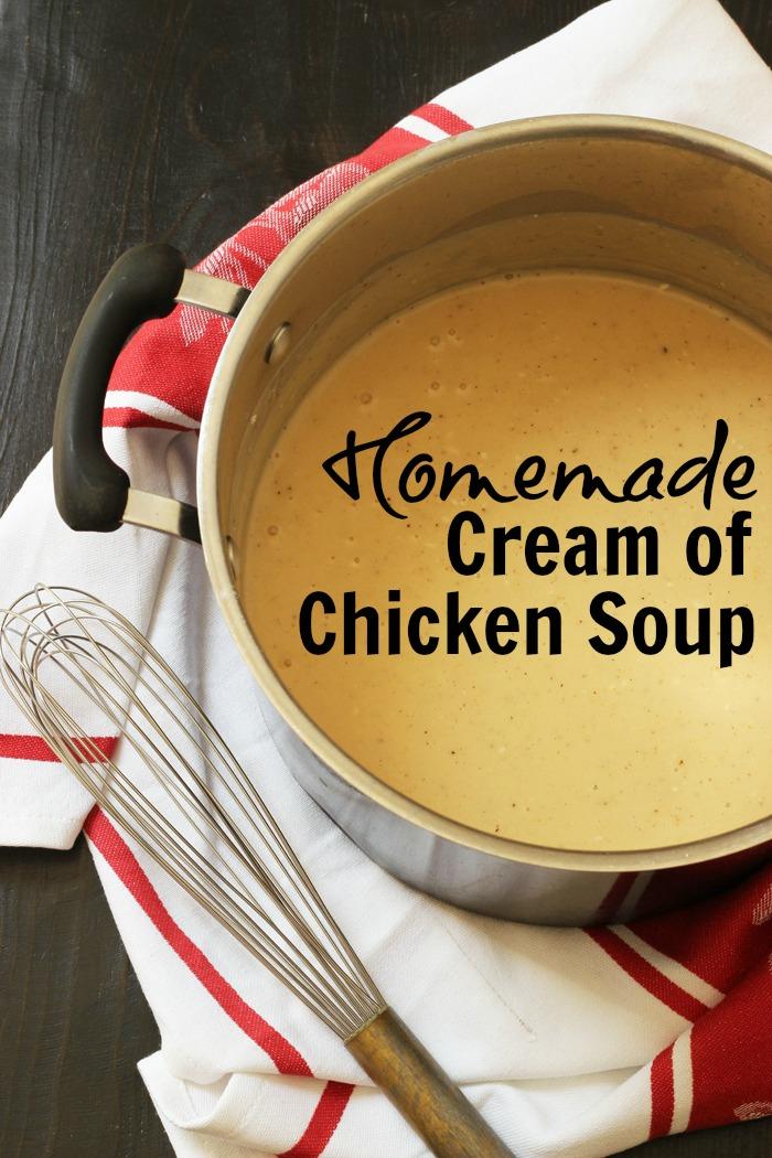 Homemade Cream of Chicken Soup Good Cheap Eats PIN