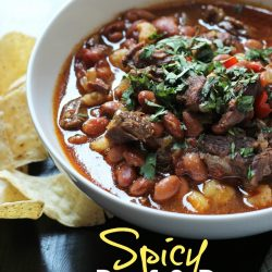 Spicy Beef and Bean Stew Good Cheap Eats PIN