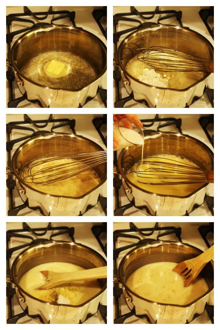 step by step photos of making cream of celery soup