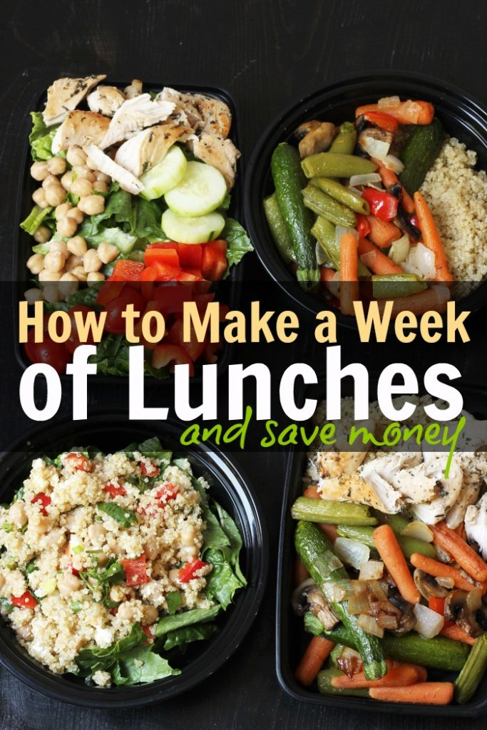 How to Make a Week of Lunches & Save Money | Good Cheap Eats