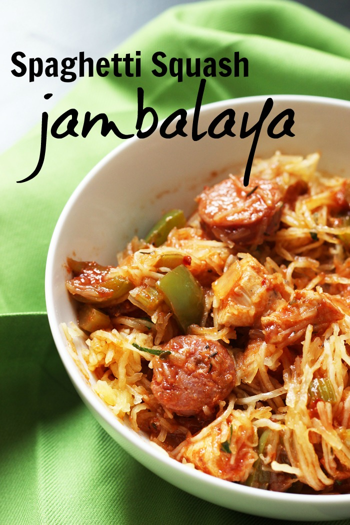 Spaghetti Squash Jambalaya | Good Cheap Eats