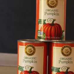canned pumpkin google express