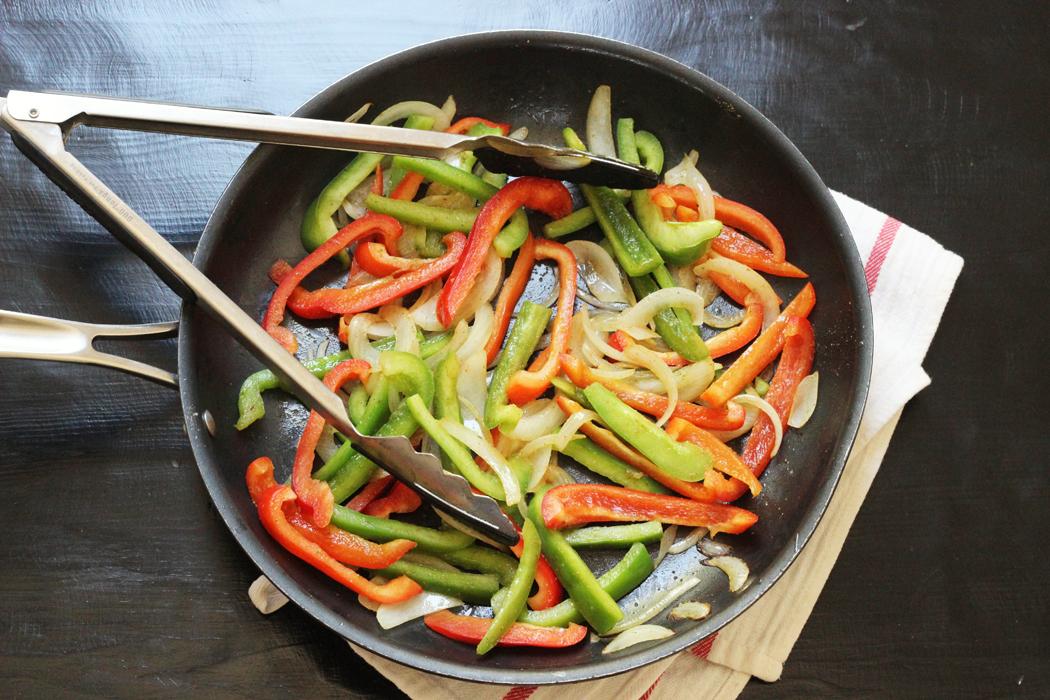 Fajita Vegetables from Good Cheap Eats