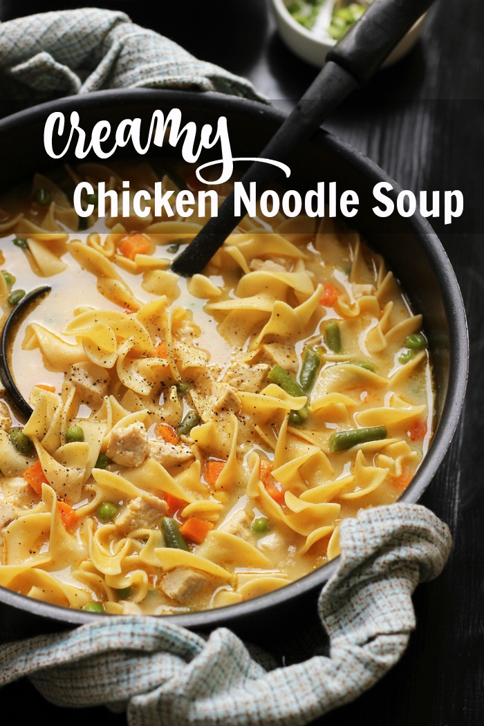 Creamy Chicken Noodle Soup   Good Cheap Eats