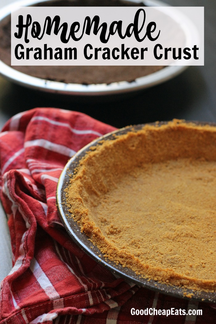Homemade Graham Cracker Crust | Good Cheap Eats