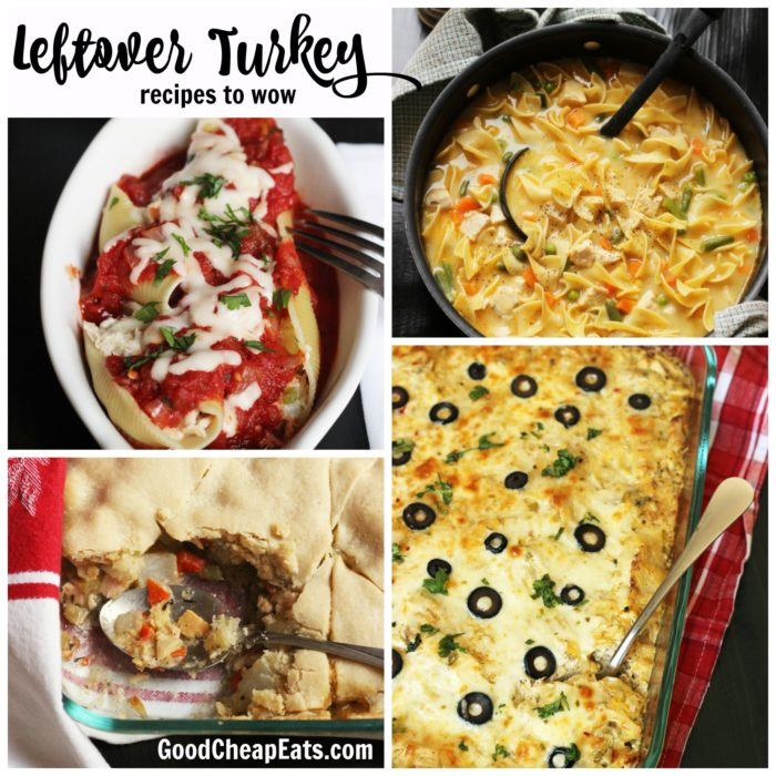 Leftover Turkey Recipes to Wow You