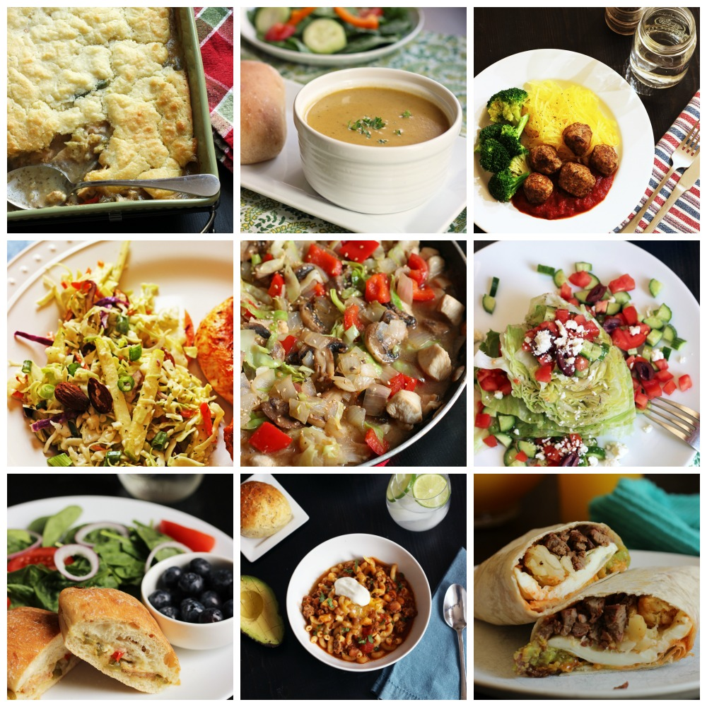 A Month of Comfort Foods Meal Plans (LIMITED TIME SPECIAL)