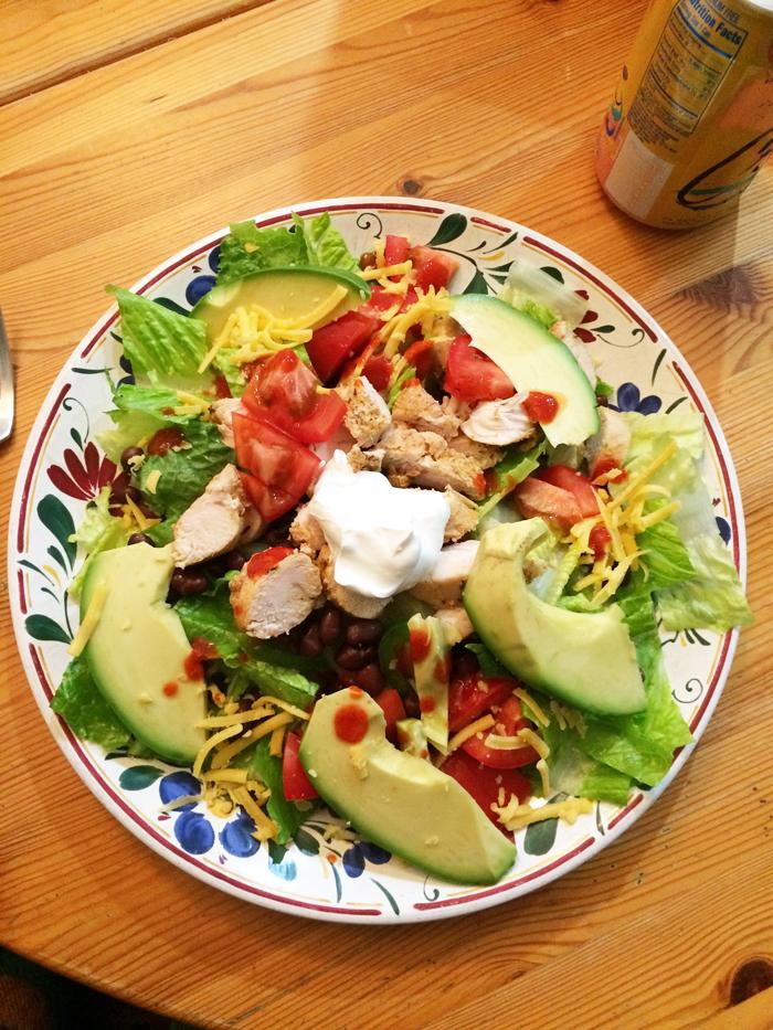 chicken-taco-salad