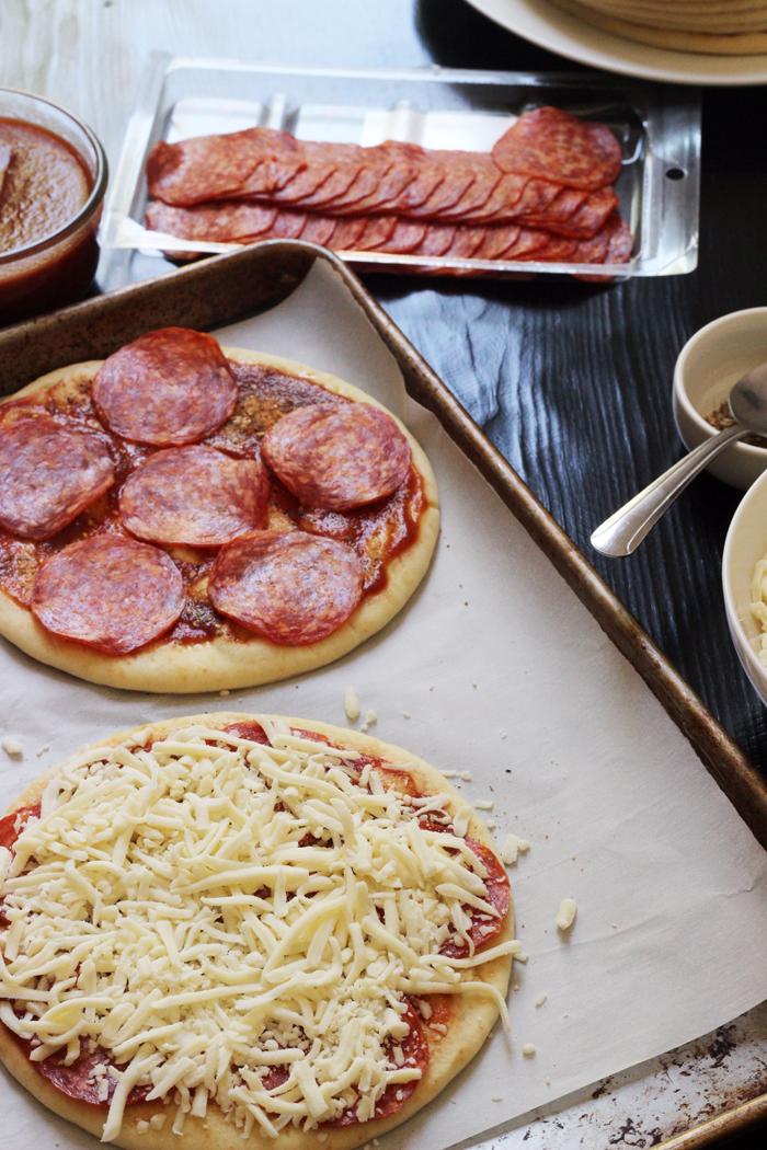 pita bread pizzas