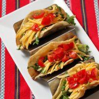 Paso Mom Tacos with Home Fried Taco Shells