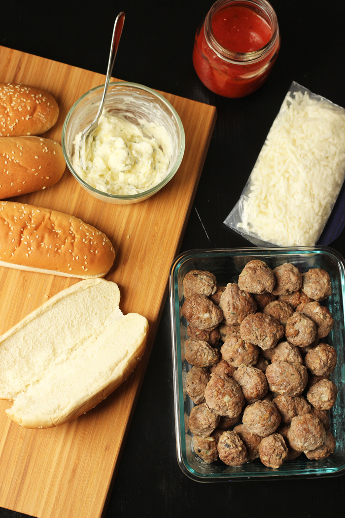 freezer kit for meatball subs