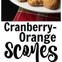 Cranberry-Orange Scones to Bake Someone Happy