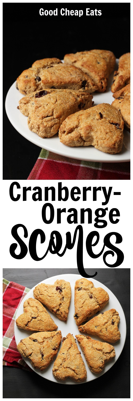 Cranberry-Orange Scones | Good Cheap Eats