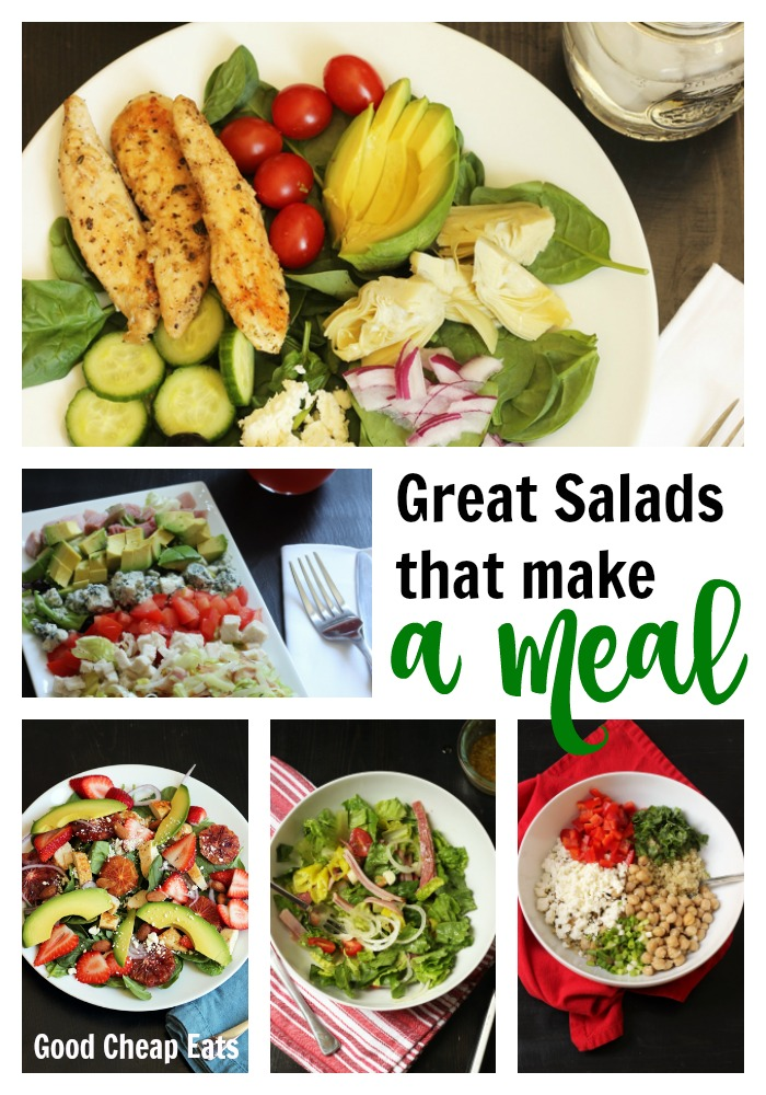 Great Salads that Make a Meal | Good Cheap Eats