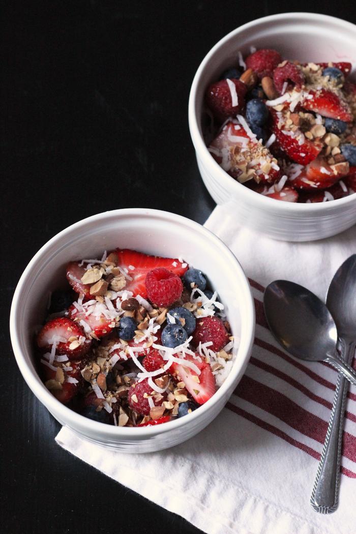 Coconut Berry Salad Recipe   Good Cheap Eats