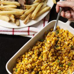 Seasoned Corn Off the Cob – Simple Summer Side