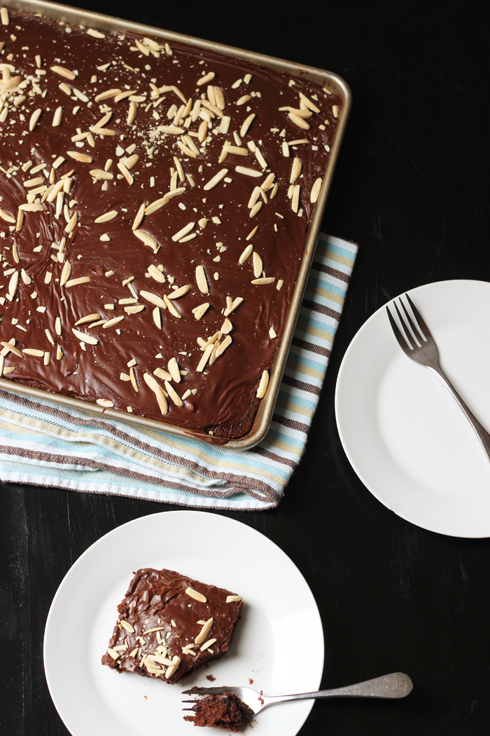 Easy Chocolate Cake with Almonds and Cinnamon | Good Cheap Eats