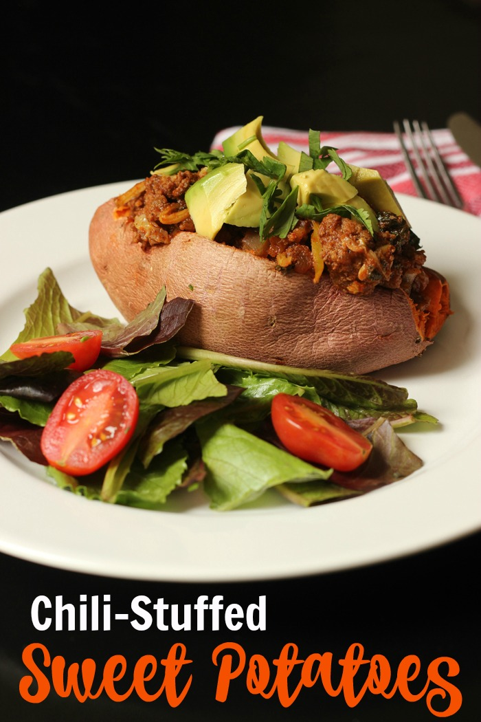Chili Stuffed Sweet Potatoes | Good Cheap Eats