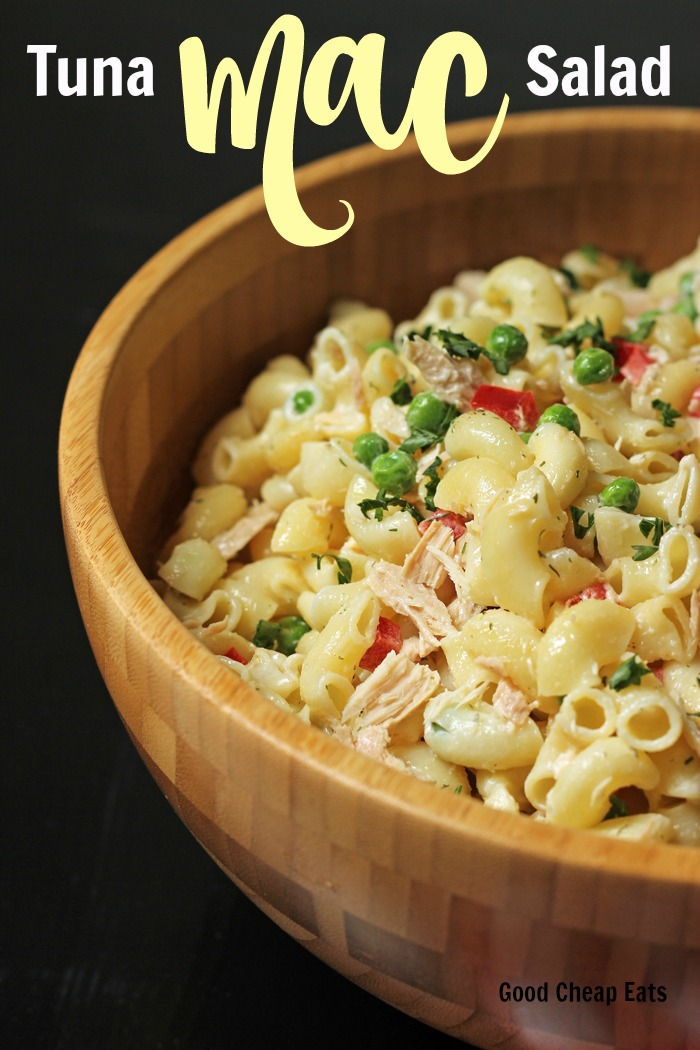 Tuna Macaroni Salad | Good Cheap Eats