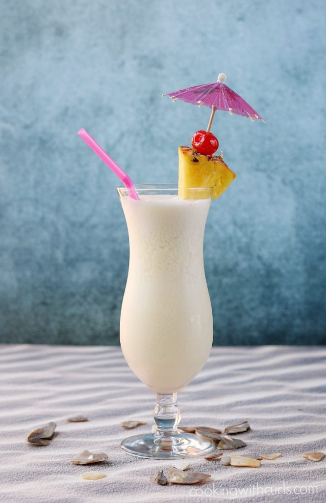 pina colada summer drink