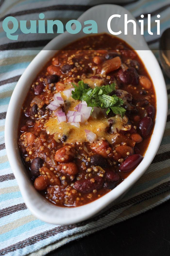 Quinoa Chili With Three Chiles