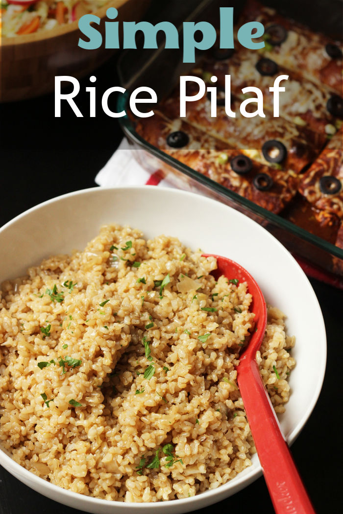 Simple Rice Pilaf Recipe | Good Cheap Eats