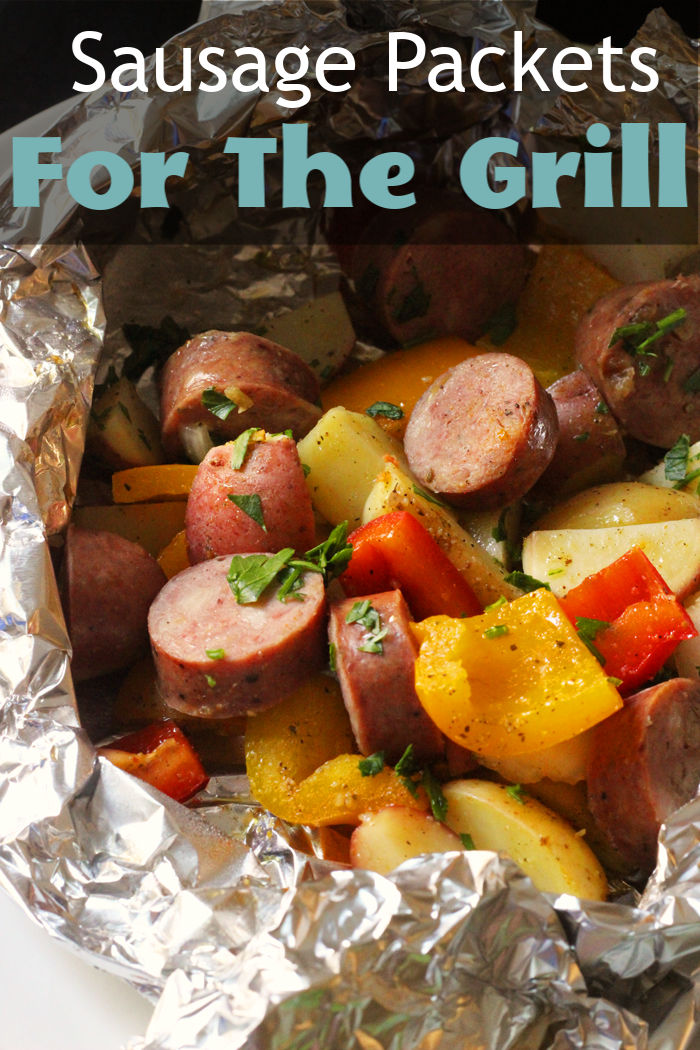 Sausage Packets For The Grill | Good Cheap Eats