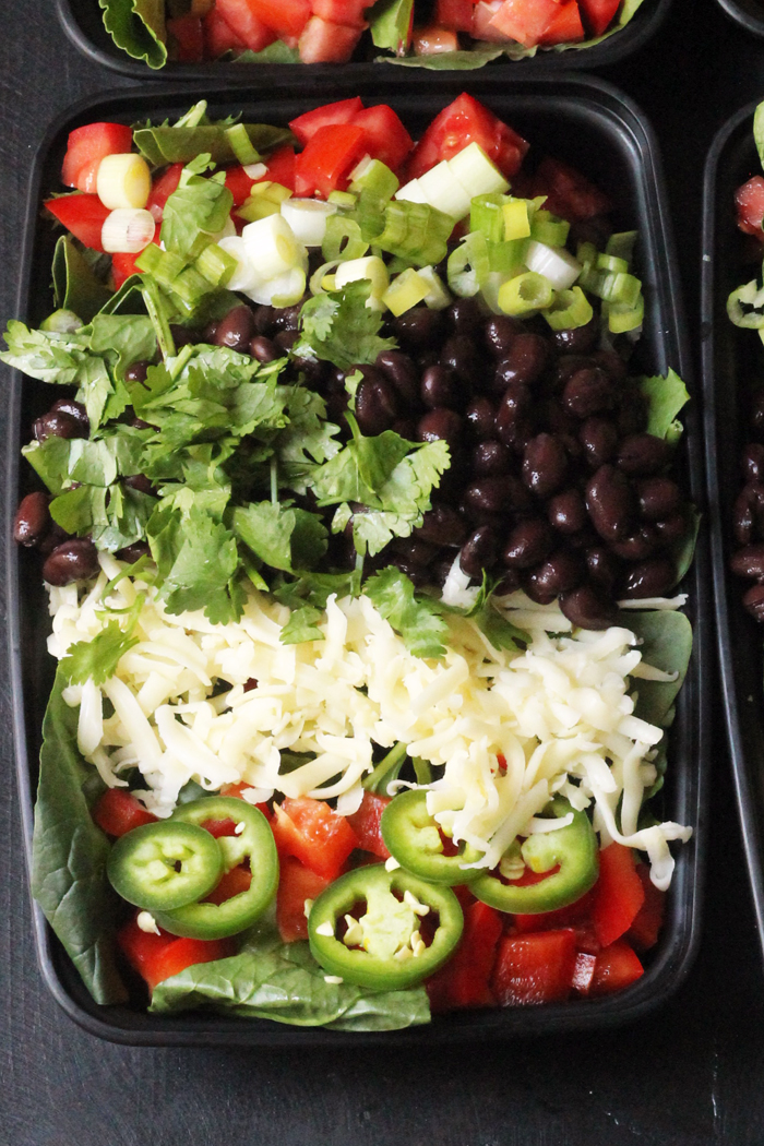 Black Bean Taco Salad | Good Cheap Eats