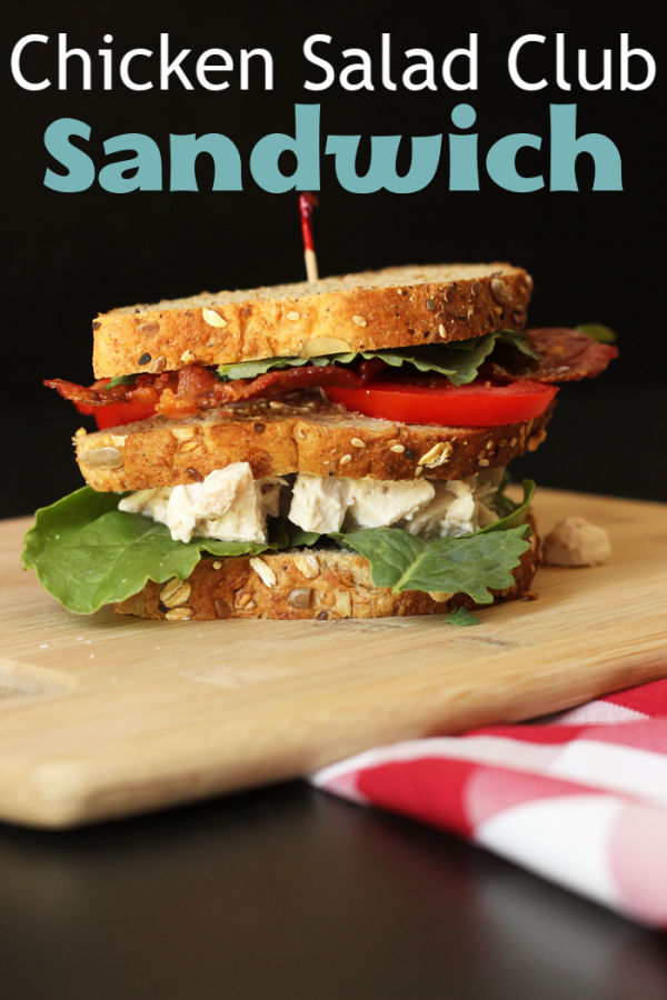 Chicken Salad Club Sandwich | Good Cheap Eats