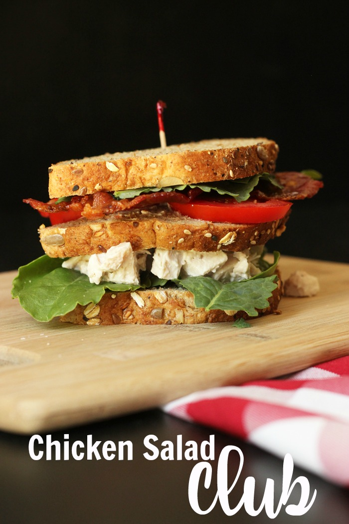 Chicken Salad Club Sandwiches | Good Cheap Eats