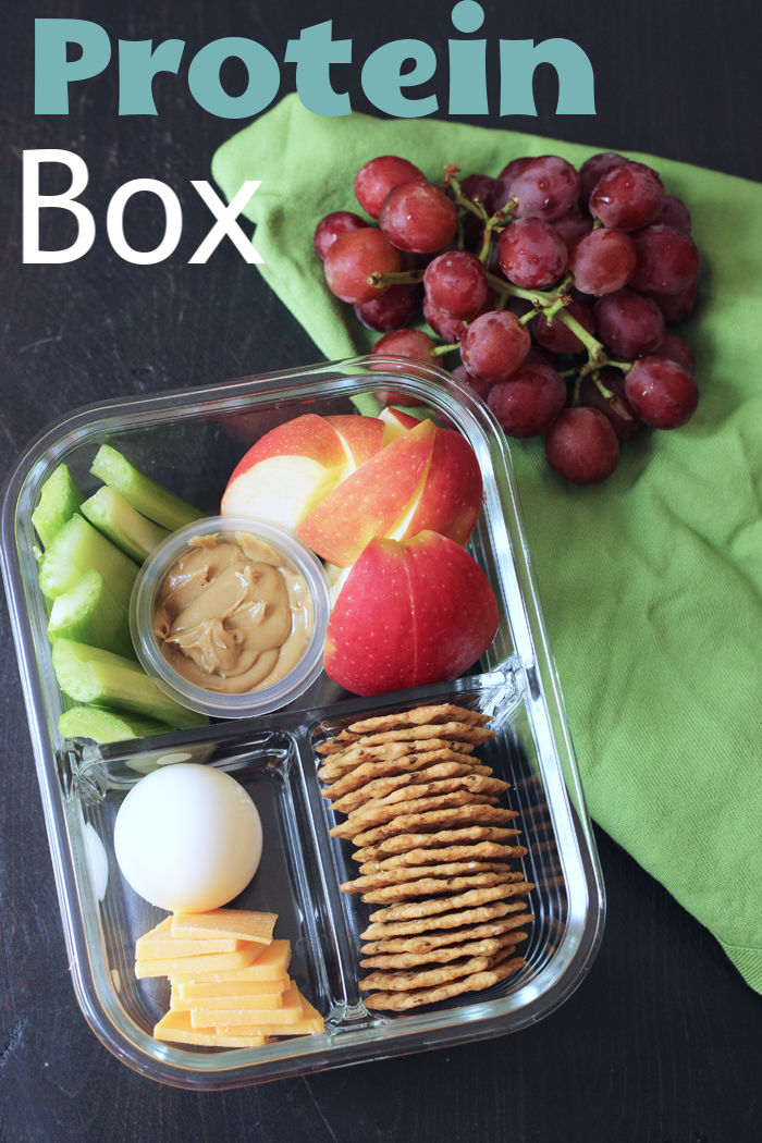 Protein Box (aka DIY Bistro Box) - Easy Lunch Idea from Good