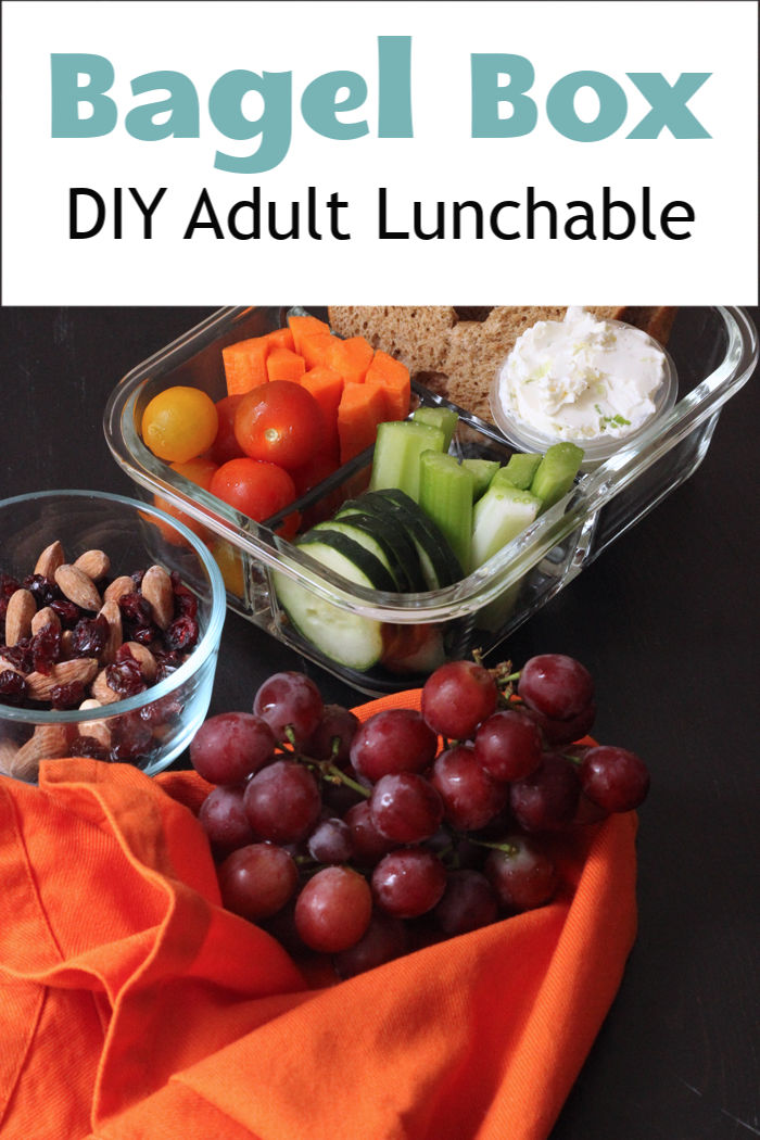 Bagel Box: DIY Adult Lunchable