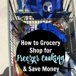How to Grocery Shop for Freezer Cooking and Save Money | Good Cheap Eats