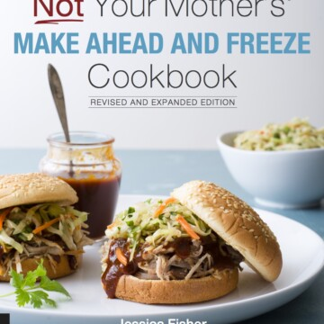 Cover image of Not Your Mother's Make-Ahead and Freeze Cookbook.