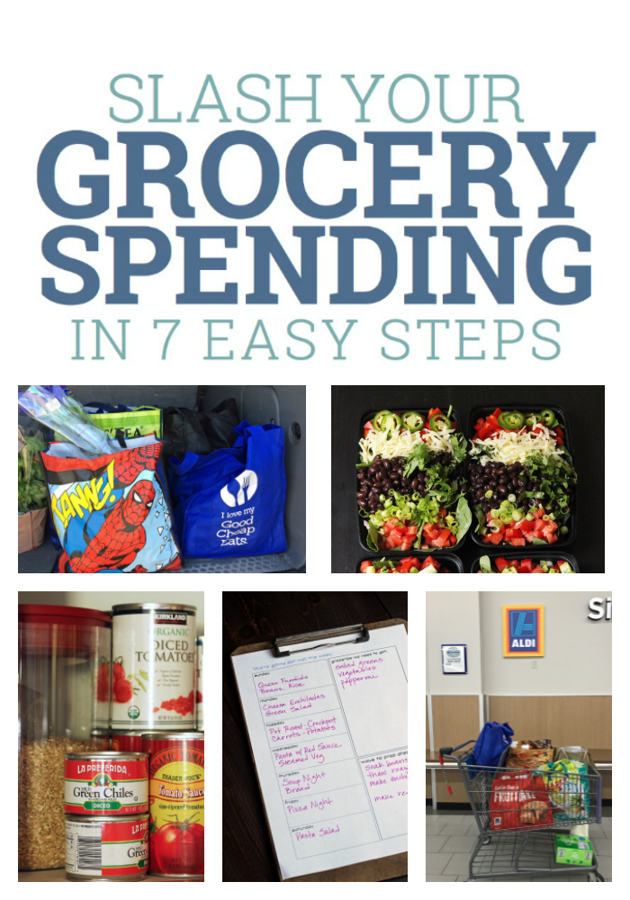 Slash Your Grocery Spending In 7 Easy Steps