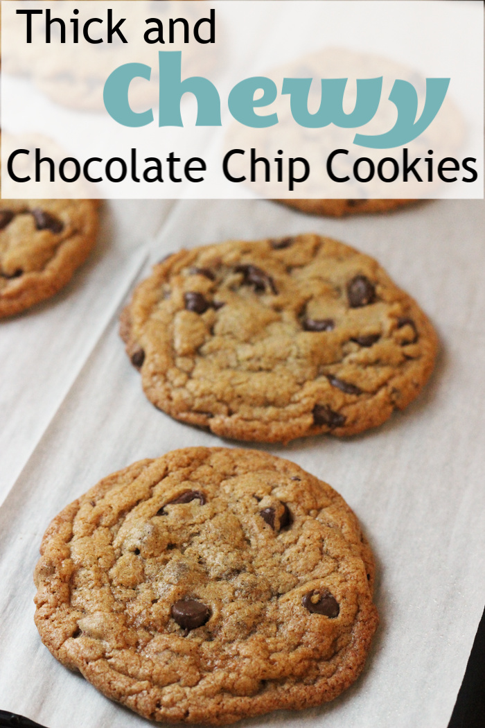 Thick and Chewy Chocolate Chip Cookies | Good Cheap Eats