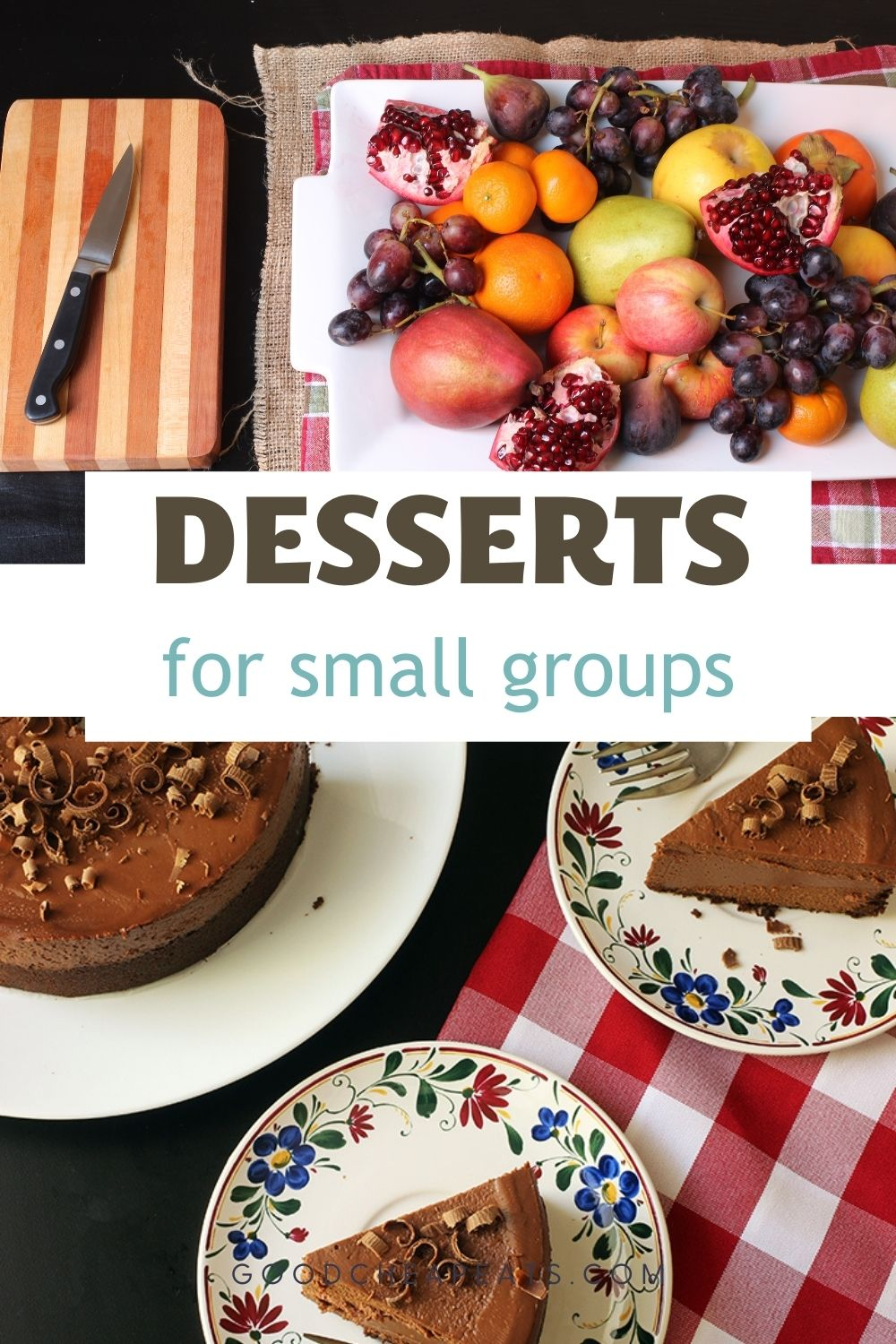 desserts for small groups PIN