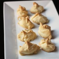 Lemon Meringue Cookies - Gluten and Dairy Free