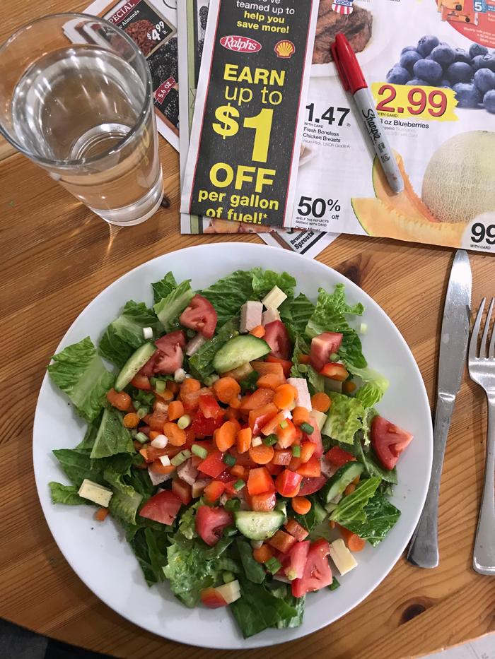a big salad