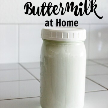 How to Make Real Buttermilk at Home | Good Cheap Eats