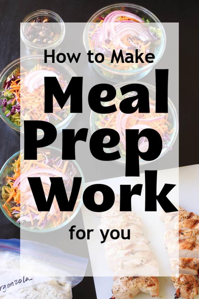 How to Make Meal Prep Work for You