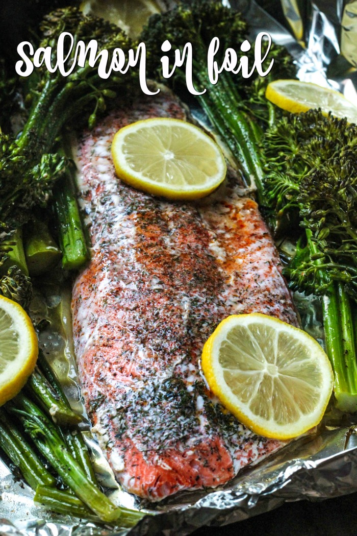 Baked Salmon in Foil   Good Cheap Eats