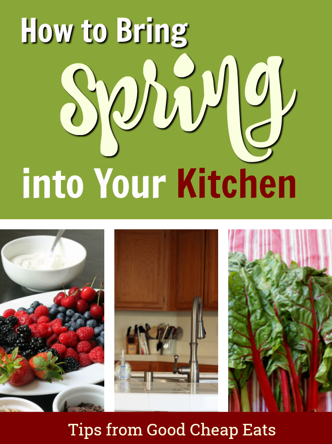 How to Bring Spring to Your Kitchen