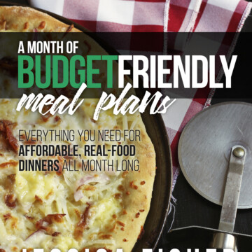 cover of budget friendly meal plans