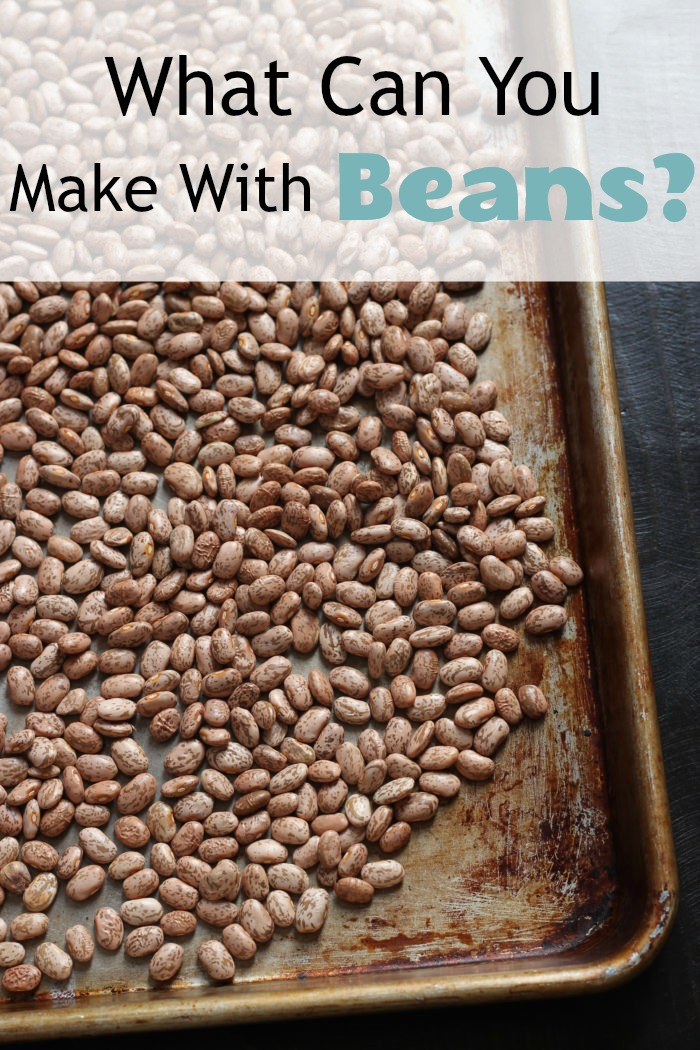 cookie sheet of beans